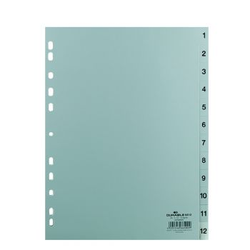Durable - Divider with number (1-12)