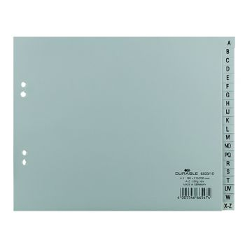 Durable - A5 Plastic Divider with Aplhabets (A-Z)