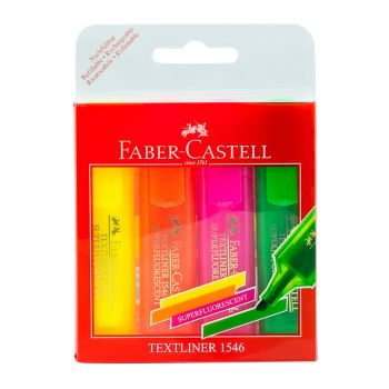 Faber Castell-Textliner Clear Set of 4