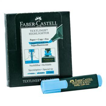 Faber Castell-Textliner pack of 10 (Blue)