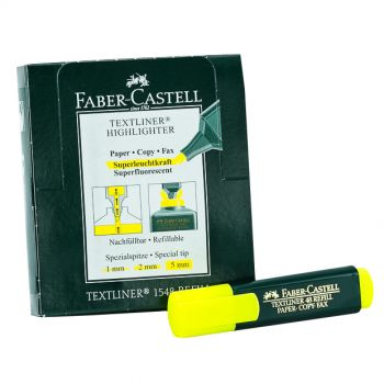 Faber Castell-Textliner Highlighter , pack of 10 (Yellow)