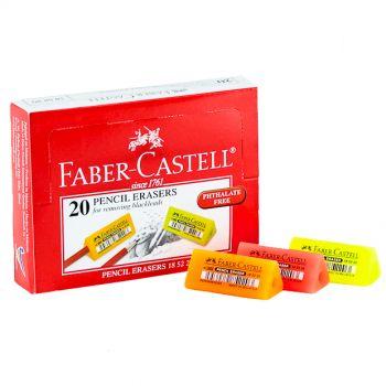 Faber Castell-Eraser Color Packet of 20 Pcs