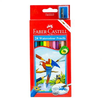 Faber Castell-Water Color Pencil 24 Colors (Full Size)