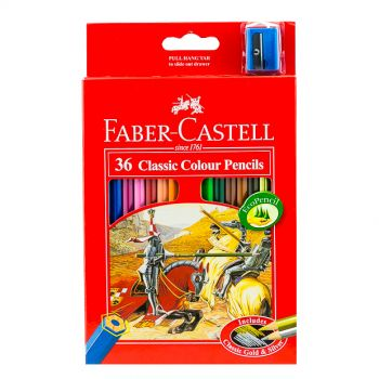 Faber Castell-Classic Color Pencil 36 Colors (Full Size)