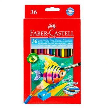 Faber Castell-Water Color Pencil 36 Colors (Full Size)