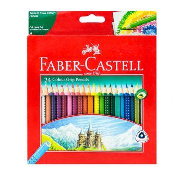 Faber Castell-Grip Color Pencil 24 Colors