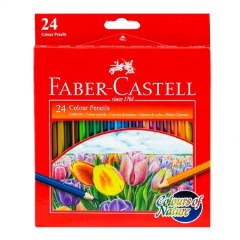 Faber Castell-Nature Color Pencil 24 (Full Size)