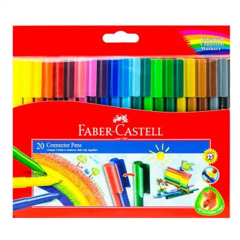 Faber Castell-Connector Pen Set (20 Colors)