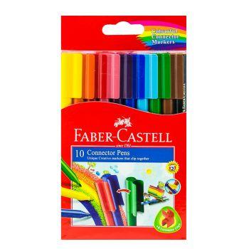 Faber Castell-Connector Pen Set (10 Colors)