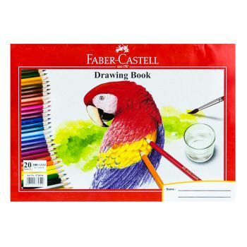 Faber Castle-Drawing Book A4 200gsm