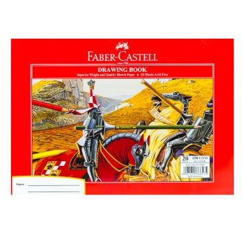 Faber Castle-Drawing Book A4 150gsm