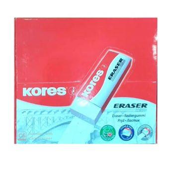Koress Eraser KE20 White, Pack of 20
