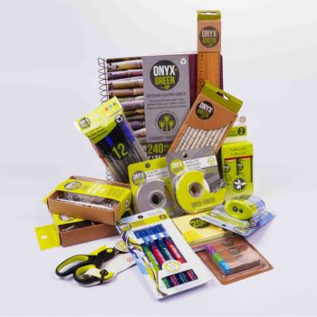 All Green, Eco Friendly Stationary Package for Kids