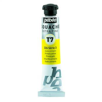 Pebeo Gouache Extra Fine Primary Yellow Color 20 ml
