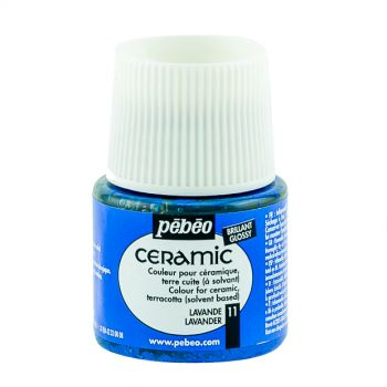 Pebeo  Lavender Color For Ceramic 45 ml