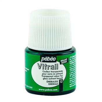 Pebeo Vitrail Emerald Color for Glass 45ml