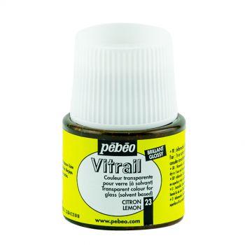 Pebeo Vitrail Lemon Color for Glass 45ml