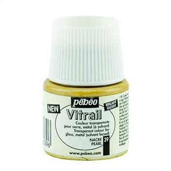 Pebeo Vitrail Pearl Color for Glass 45ml