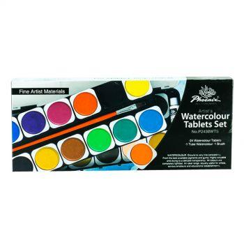 Phoenix Water colour Tablets Set