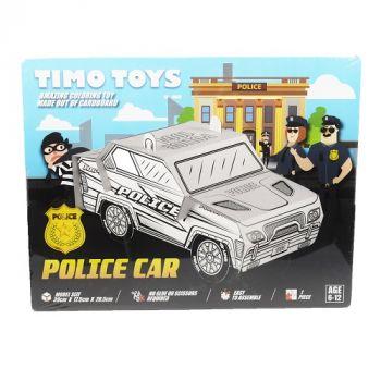 Timo Toy Police Car, Card Folding Figure
