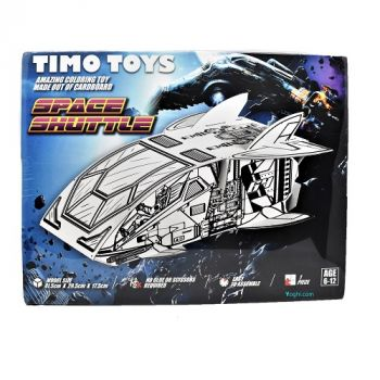 Timo Toy Space Shuttle, Card Folding Figure
