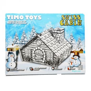 Timo Toys Swiss Cabin, Card Folding Figure