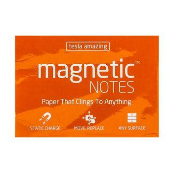Tesla Amazing - Magnetic Notes - 100 Pages (M) Orange
