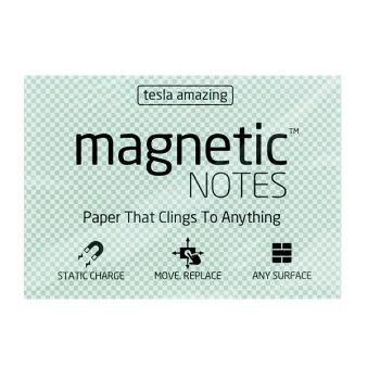 Tesla Amazing - Magnetic Notes - 100 Pages (M) Transparent