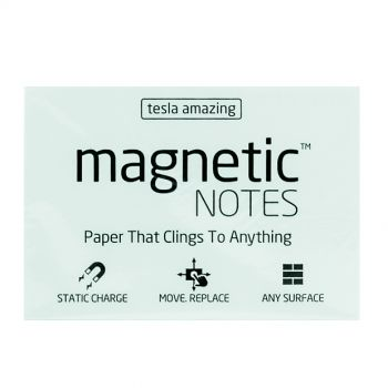 Tesla Amazing - Magnetic Notes - 100 Pages (M) White