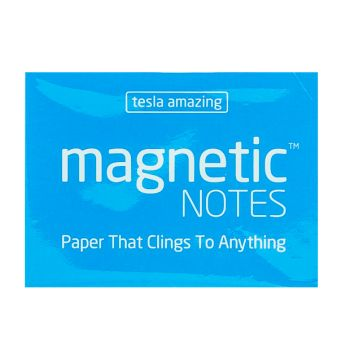 Tesla Amazing - Magnetic Notes - 100 Pages (S) Blue