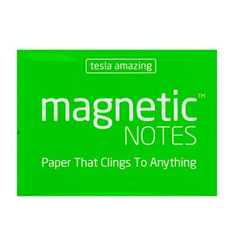 Tesla Amazing - Magnetic Notes - 100 Pages (S) Green