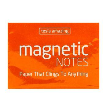 Tesla Amazing - Magnetic Notes - 100 Pages (S) Orange