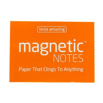 Tesla Amazing - Magnetic Notes - 100 Pages (S) Peachy