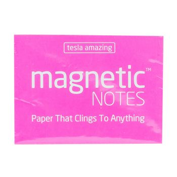 Tesla Amazing - Magnetic Notes - 100 Pages (S) Pink