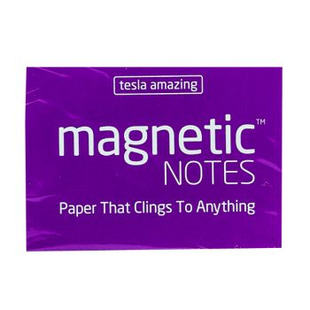 Tesla Amazing - Magnetic Notes - 100 Pages (S) Violet