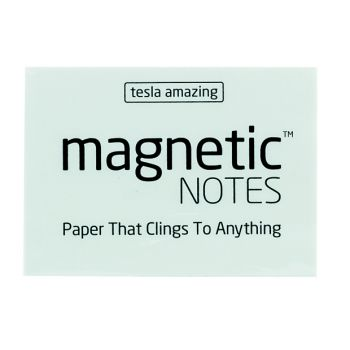 Tesla Amazing - Magnetic Notes - 100 Pages (S) White