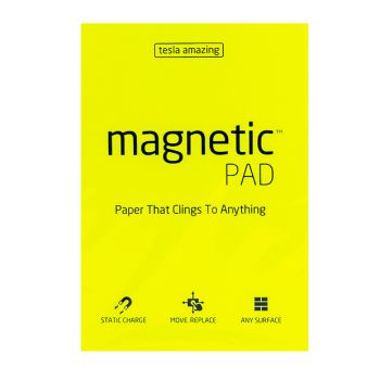 Tesla Amazing - Magnetic Pad - 50 Pages (A5) Yellow,10255