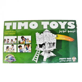 Timo Toys Tree House, Card Folding Figure