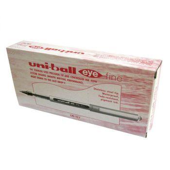 Uni-Ball Eye Fine Red Pack Of 12