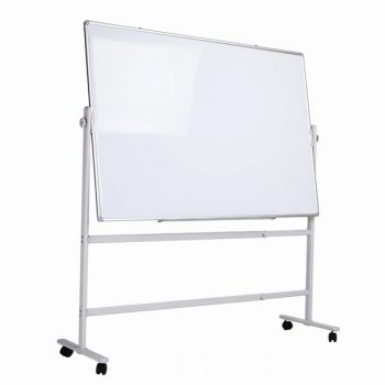 Revolve White Board Stand with out White Board, For Size 90x120 To 120x200 CM