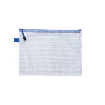 Zipper Bag B4 Mesh Bag, 385x280mm For Home and Office