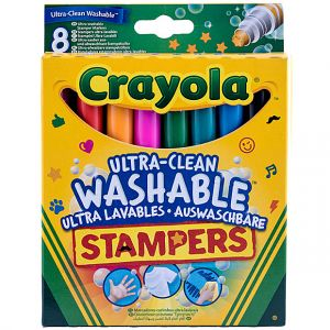 Crayola - 8 Ultra Clean Washable Stampers