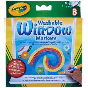 Crayola - 8 Washable Window Markers