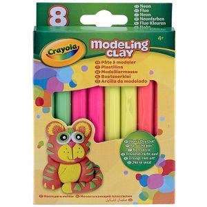 Crayola - 8 Modeling Clay Neon