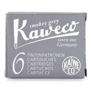 Kaweco Ink Cartridges 6 Pieces Smokey Grey
