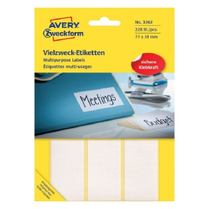 Avery Multipurpose General - Use Labels , 228 Labels Per 38 Pages
