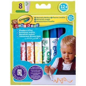Crayola - 8 Washable Markers