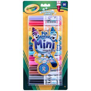 Crayola - 14 Pipsqueaks Mini Markers