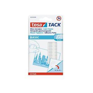 Tesa Tack Adhesive Putty Basic, 65 Pcs