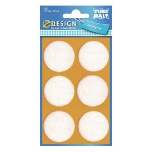 Avery Felt Pads, 6 Labels Per 1 Page